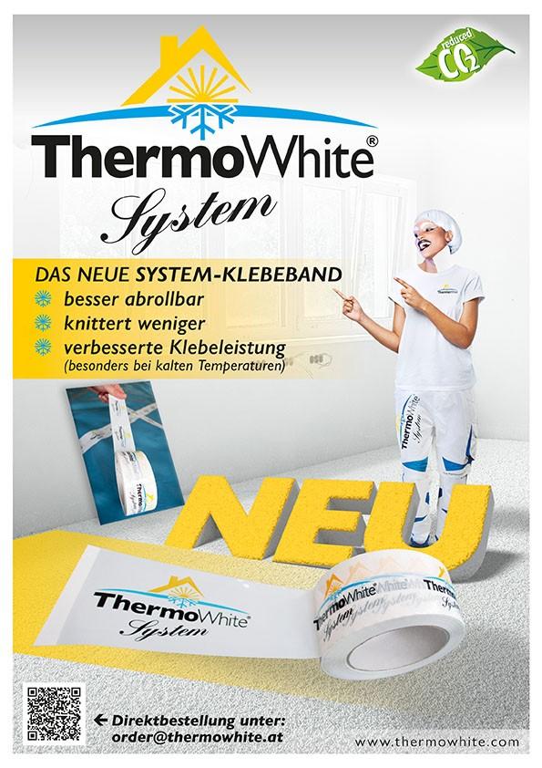 Infos über das ThermoWhite-System-Klebeband