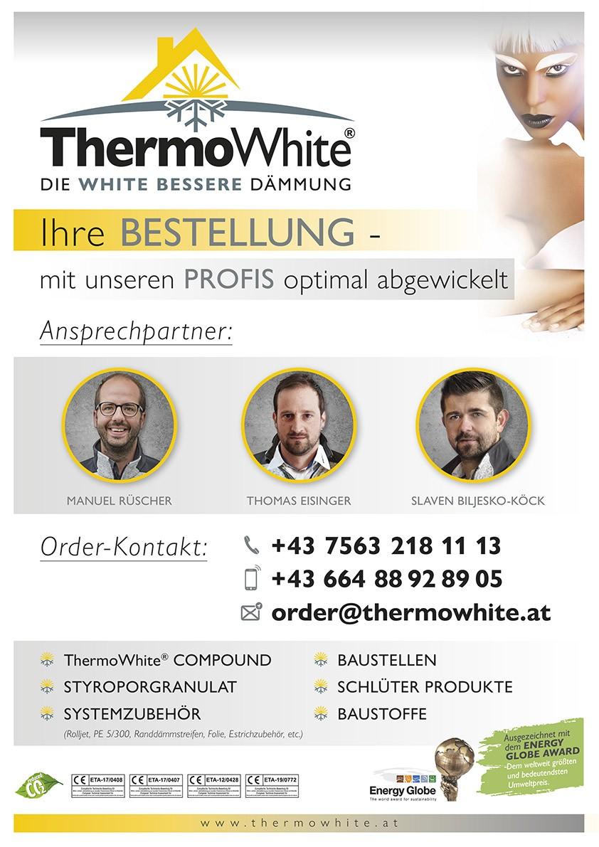 Thermowhite Bestellung Ansprechpartner